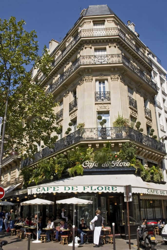 O famoso Cafe de Flore na Boulevard Saint-Germain (Atout France/Michel Angot)