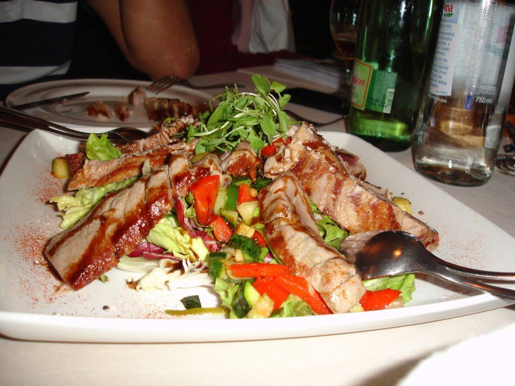 Delícias preparadas pelo Chef Belizar Miloš, do Agava.