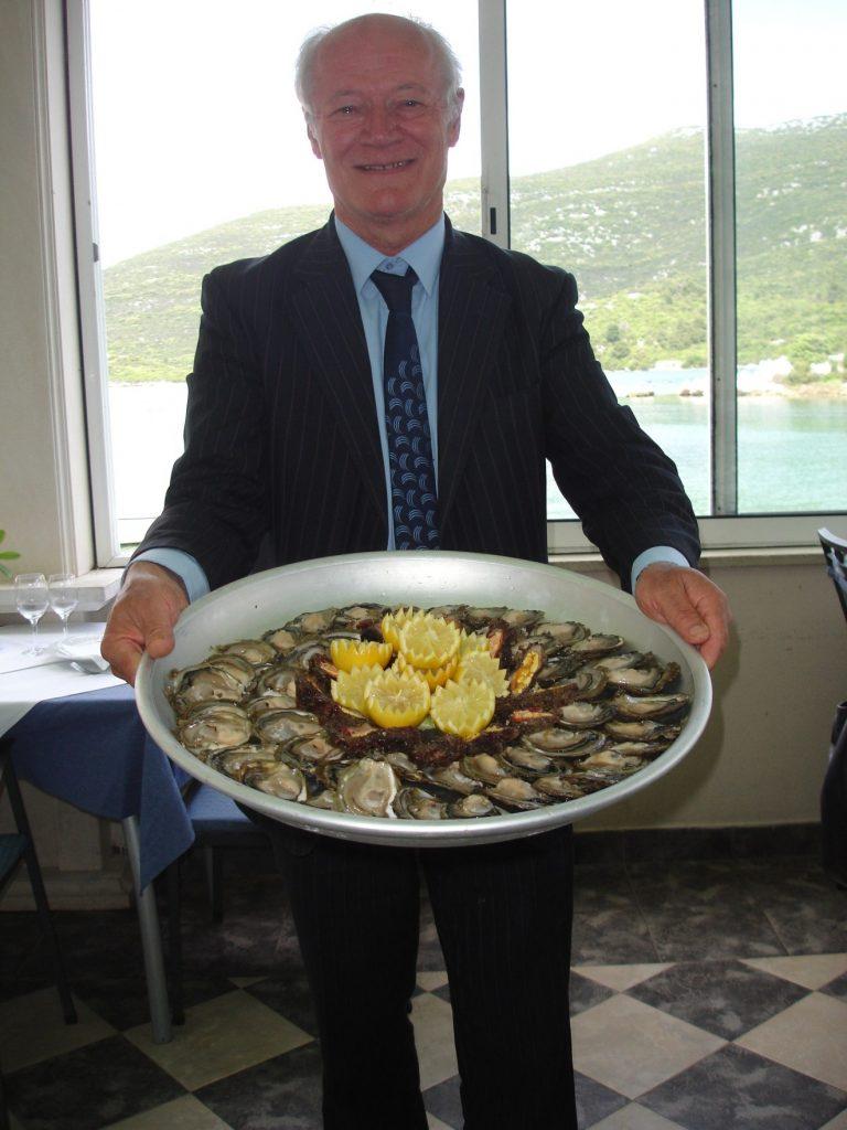 Comida mediterrânea na região da Dalmácia