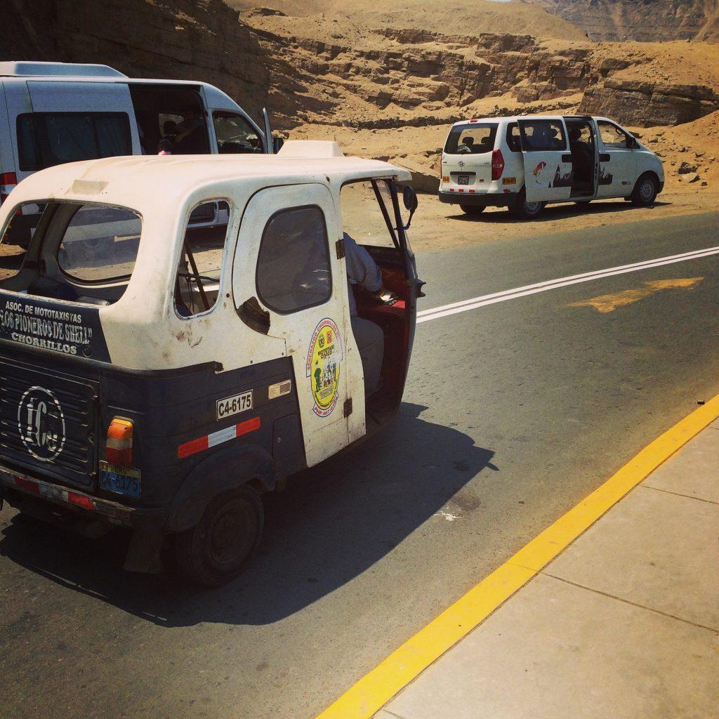 O mototáxi também é bastante utilizado (Foto: Paula Lemos Barbosa)