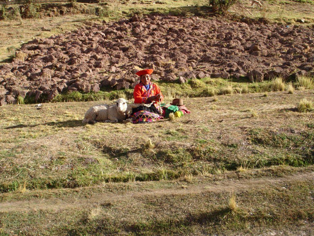 Belezas pelo caminho entre Cusco e Machu Picchu (Foto: Eliane Barbosa)