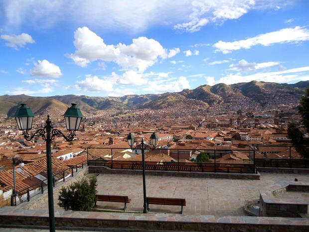Vista de San Blas