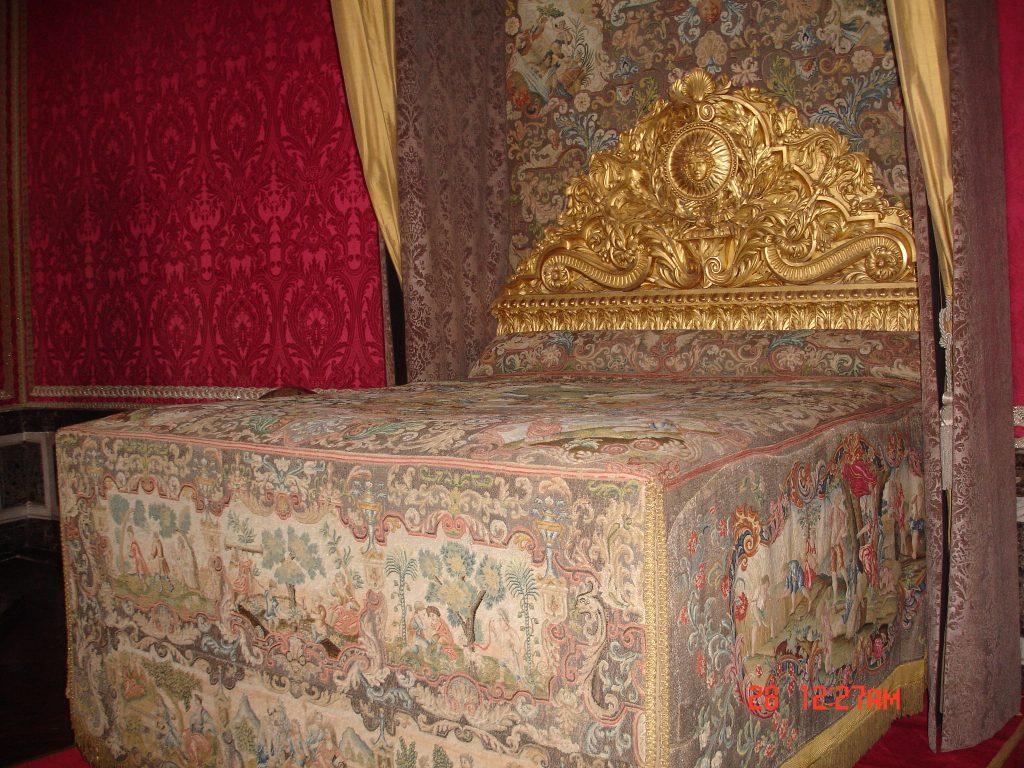 A cama do casal real, Maria Antonieta e Luiz XVI (Zarcillo Barbosa)