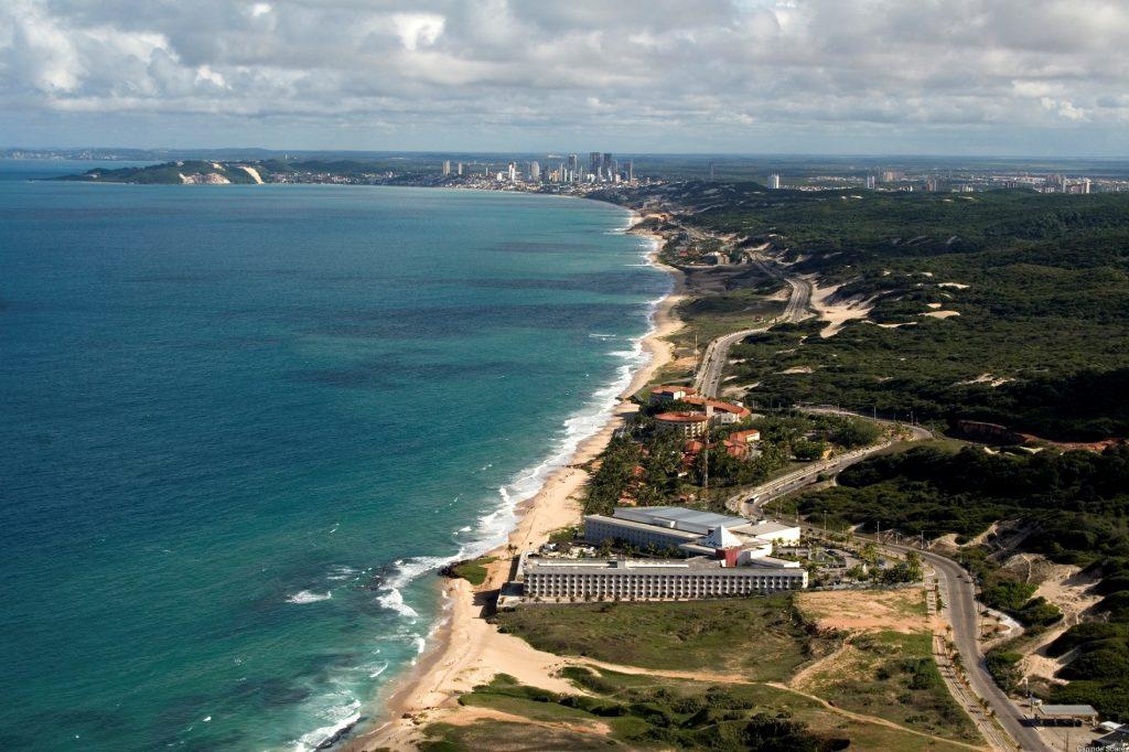 A maravilhosa via costeira de Natal (*foto SETUR-RN)