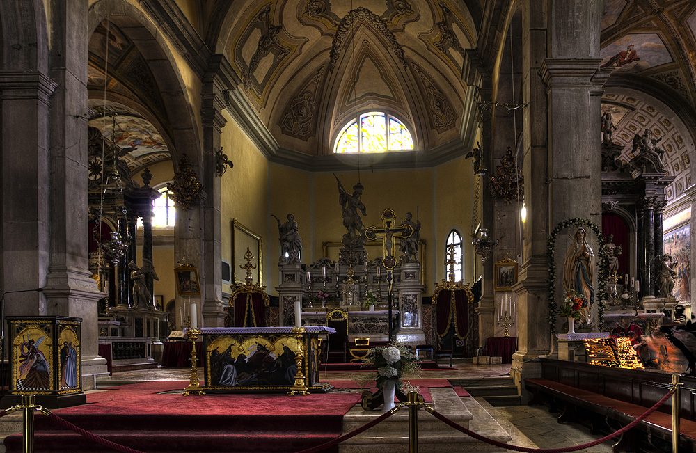 Detalhe do interior da igreja (foto: divulgação internet)
