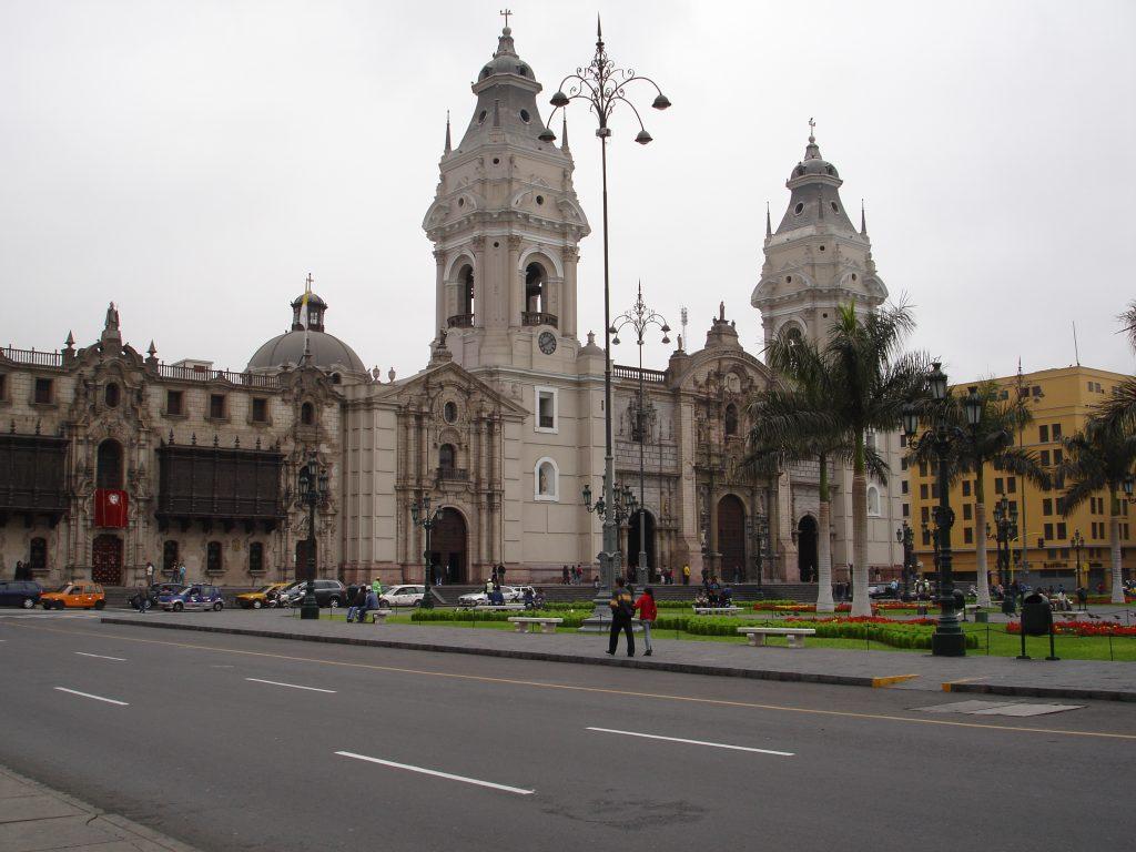 Catedral de Lima (Foto: Eliane Barbosa)