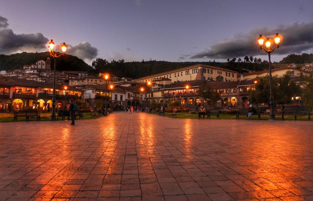Cusco à noite (divulgação internet)