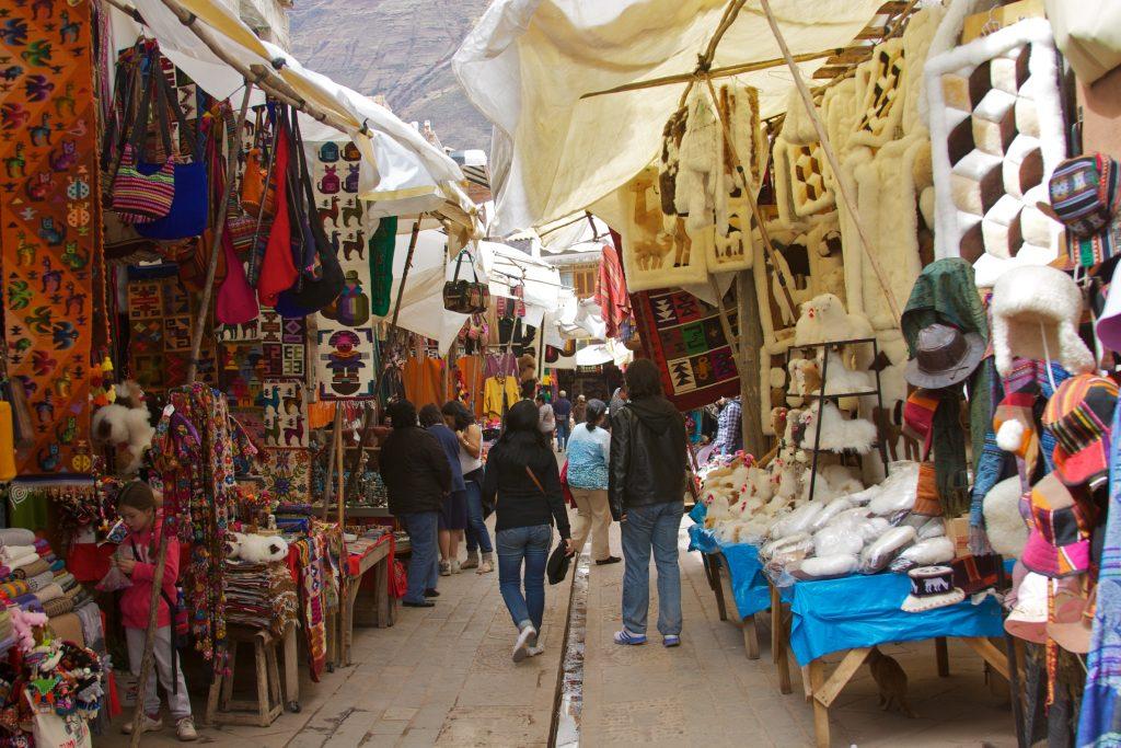 A feira de Písac e suas cores (foto: divulgação internet)